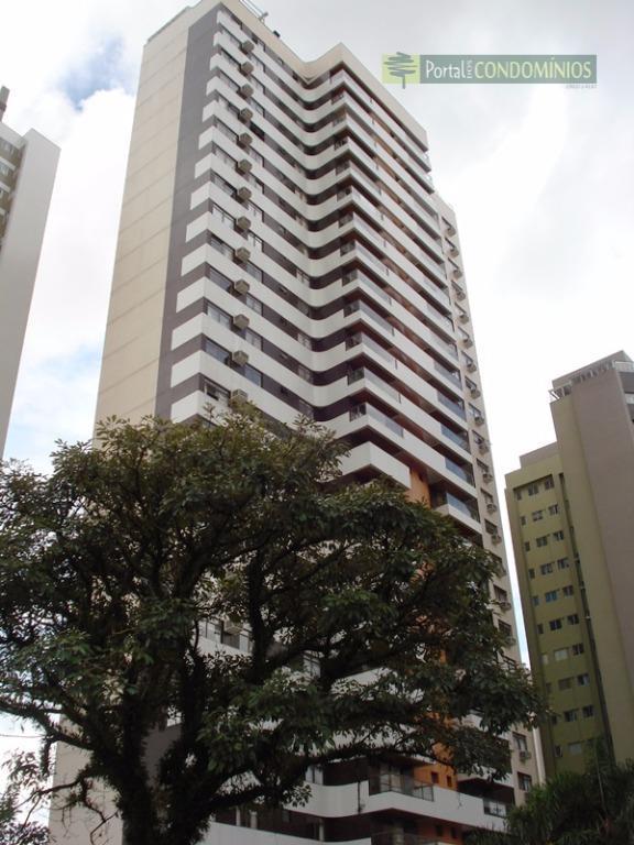 Apartamento residencial à venda, Cabral, Curitiba - AP0313.