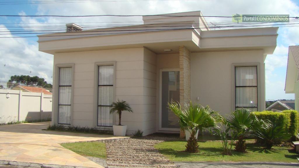 Casa residencial à venda, Campo Comprido, Curitiba - CA0188.