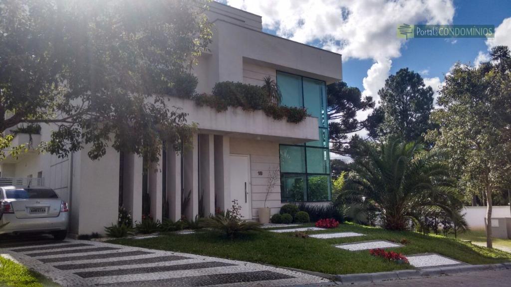 Casa residencial à venda, Santo Inácio, Curitiba - CA0197.