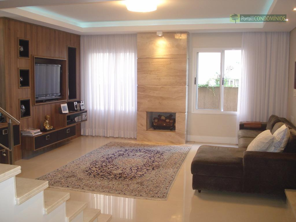 Casa residencial à venda, Campo Comprido, Curitiba - CA0116.