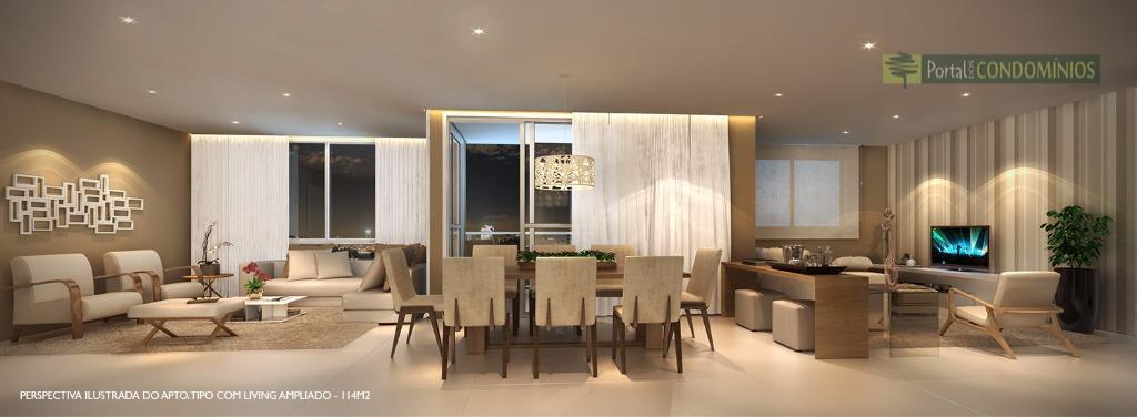 Apartamento residencial à venda, Água Verde, Curitiba - AP0326.