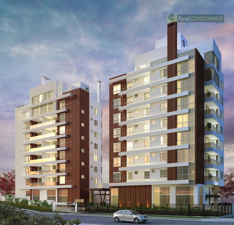 Apartamento residencial à venda, Ahú, Curitiba - AP0343.