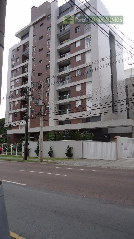 Apartamento residencial à venda, Bigorrilho, Curitiba - AP0349.
