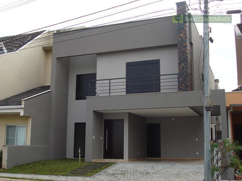 Casa residencial à venda, Santa Quitéria, Curitiba - CA0212.