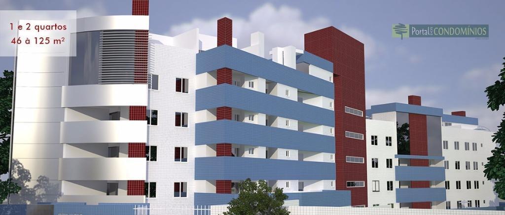 Apartamento residencial à venda, Seminário, Curitiba - AP0350.