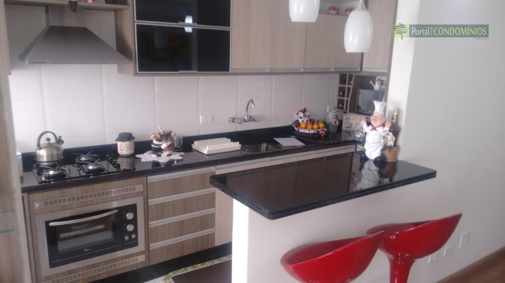Apartamento residencial à venda, Capão Raso, Curitiba - AP0358.