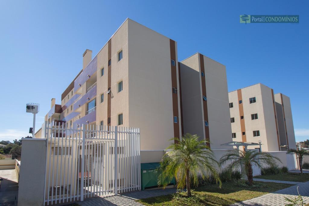Apartamento residencial à venda, Bacacheri, Curitiba - AP0417.