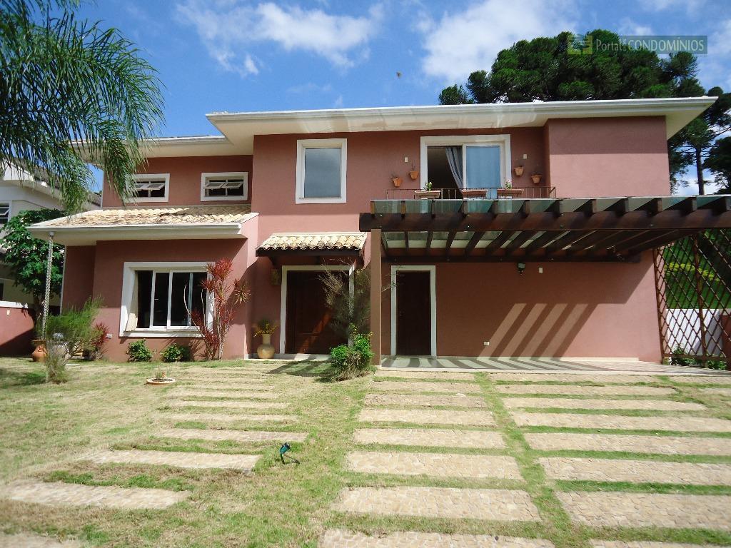Casa residencial à venda, Vista Alegre, Curitiba.