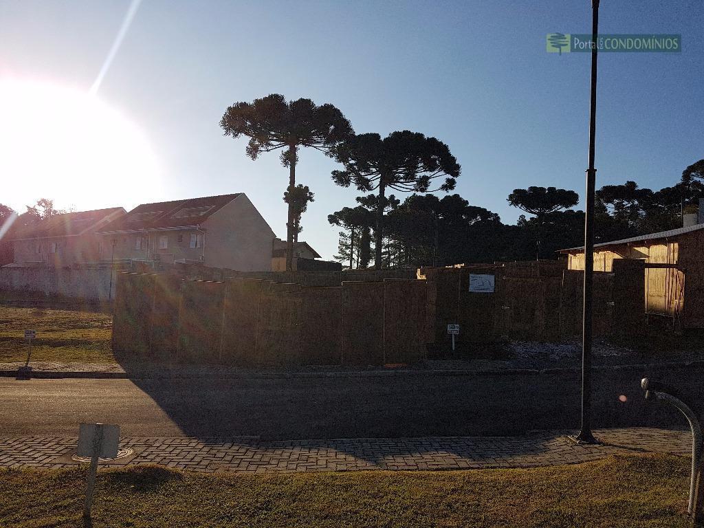 terreno condomínio fechado - bairro santa felicidade - excelente terreno perfeito para o morar bem, com...