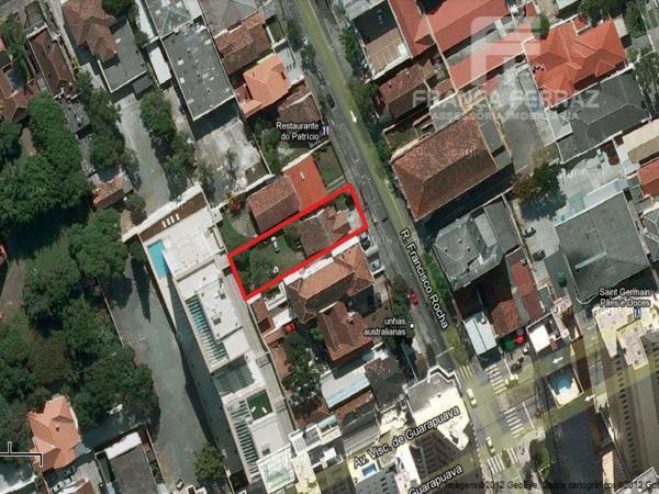Terreno residencial à venda, Batel, Curitiba.