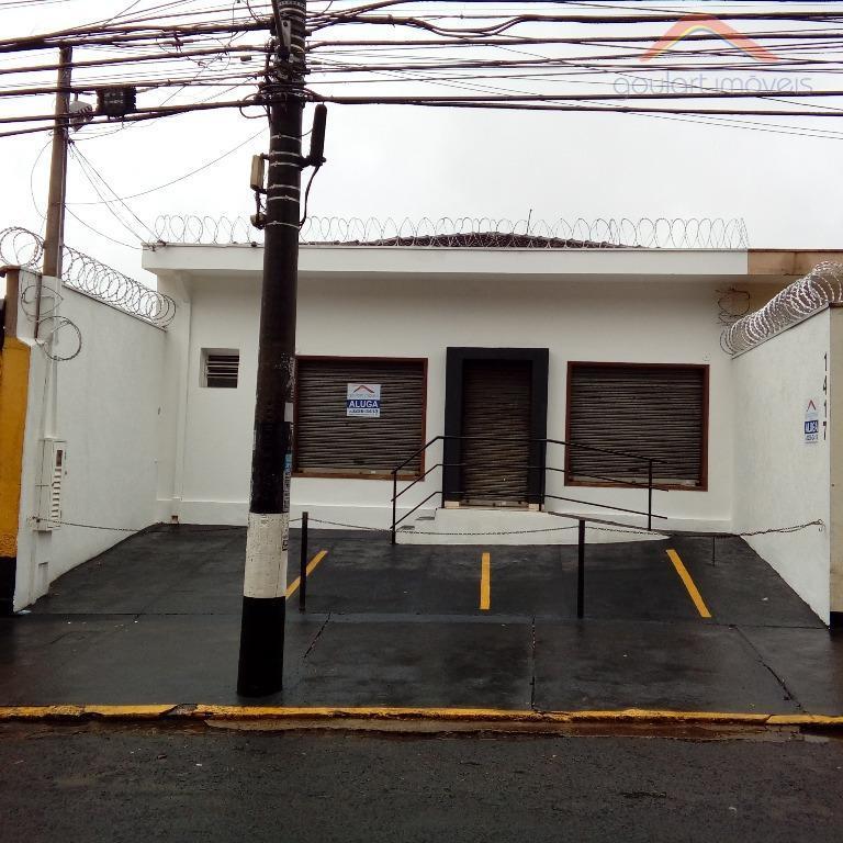 Loja comercial para locação, Campos Elíseos, Ribeirão Preto.