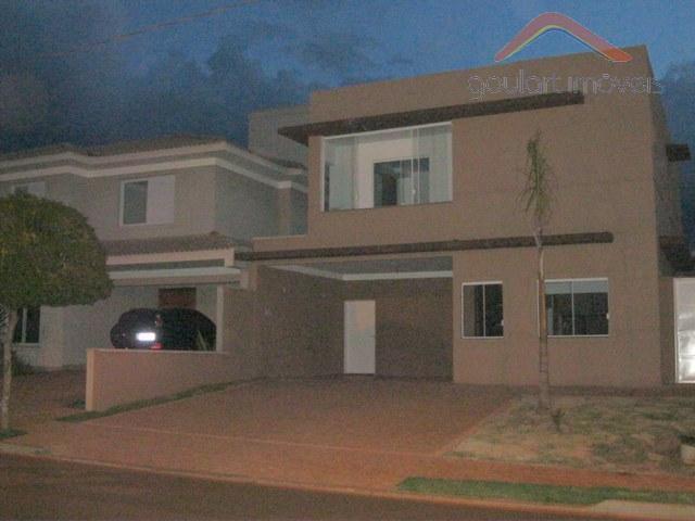 Casa  residencial à venda, Condomínio Aroeira, Ribeirão Preto.