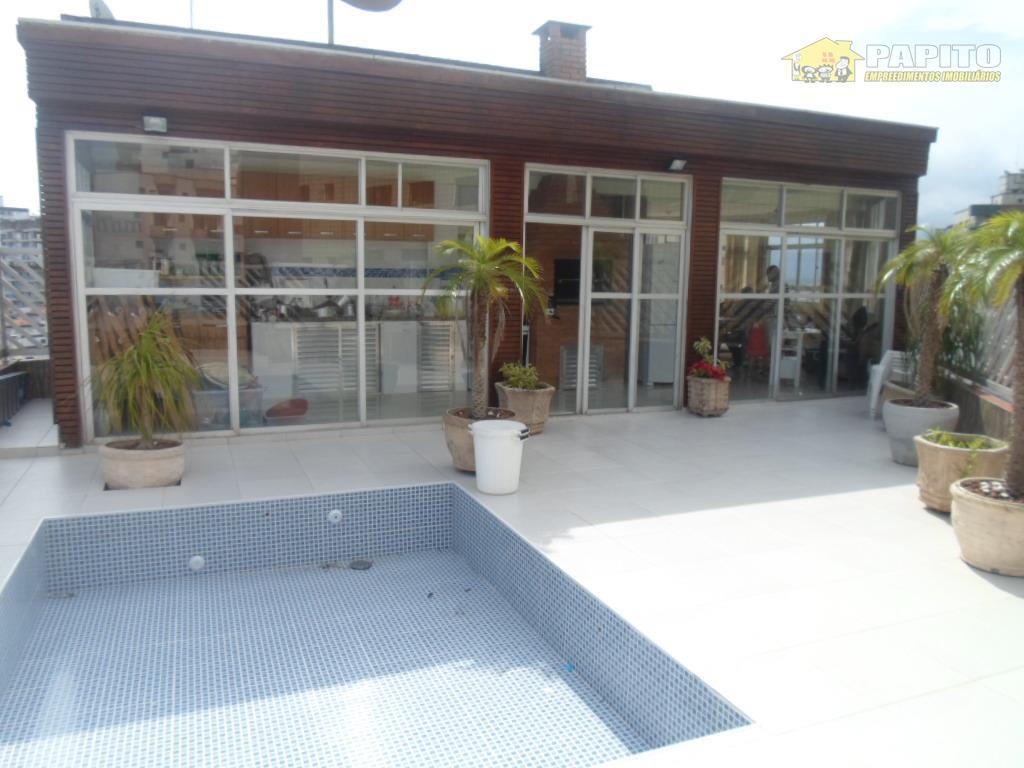 Cobertura residencial à venda, Vila Tupi, Praia Grande.