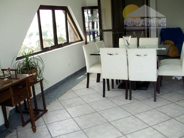 cobertura duplex jd. são paulo!!! 186 m² ,3 dormitórios, suite, living para 2 ambientes, espaço gourmet,...