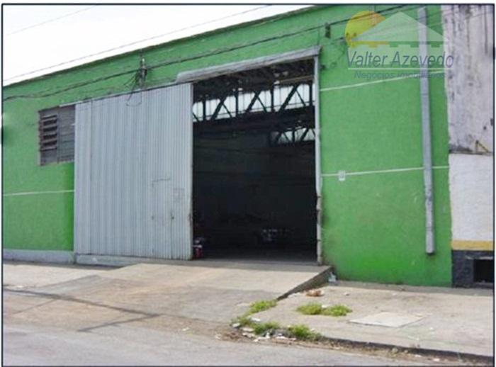 Galpão comercial para locação, Vila Leopoldina, São Paulo - GA0008.