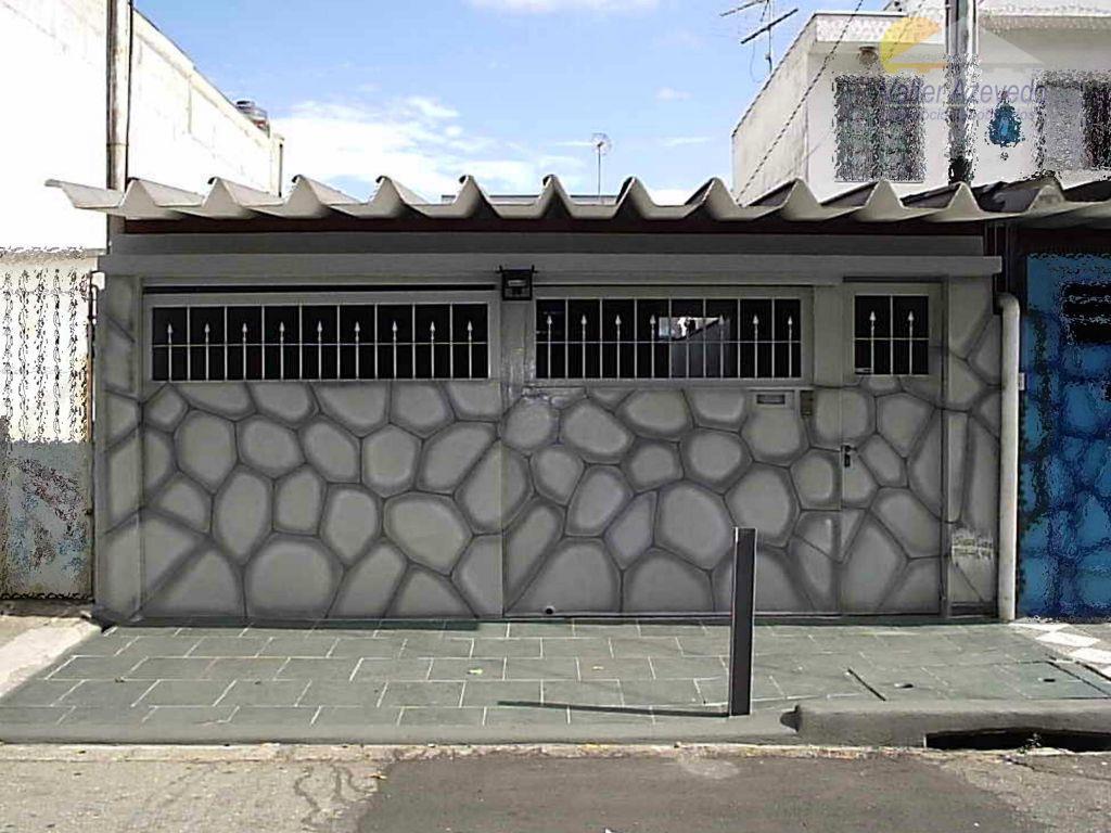 Sobrado residencial à venda, Vila Zat, São Paulo - SO0066.