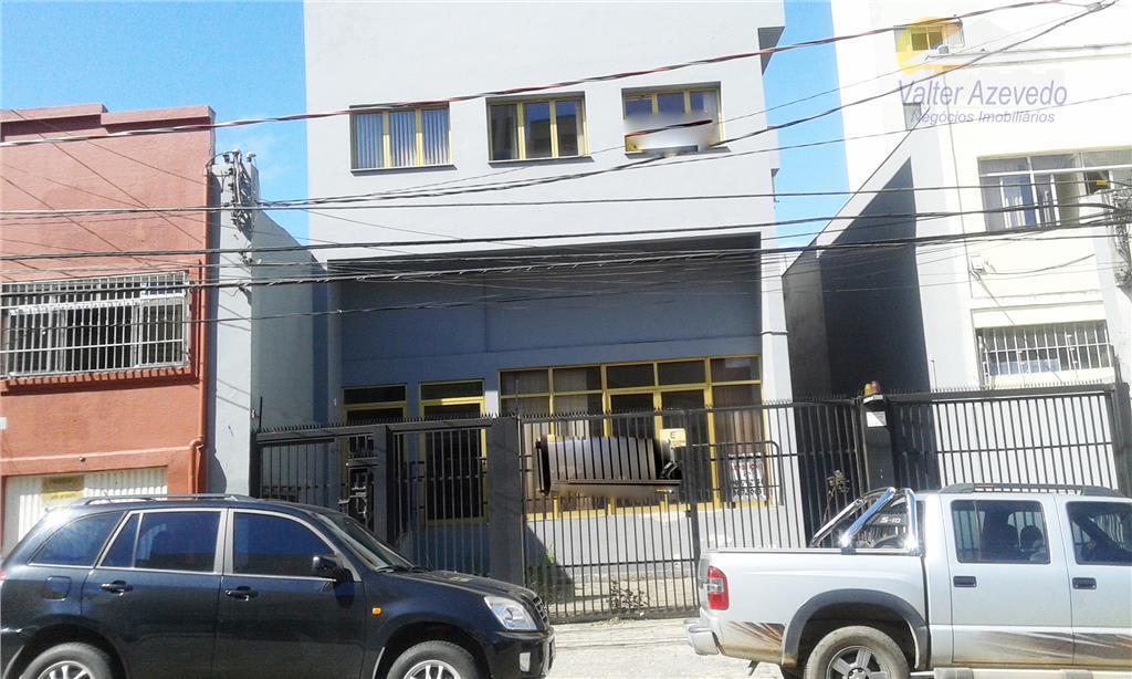Salão comercial para locação, Lapa, São Paulo - SL0009.
