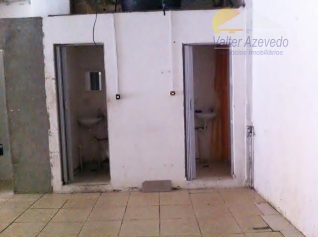 salão comercial santa terezinha !!! 120 m² , 2 wc´s , 2 portas de aço .