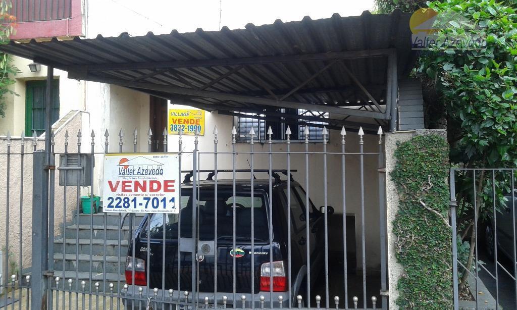 Casa residencial à venda, Vila Romana, São Paulo.