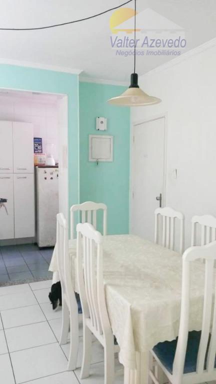 Apartamento residencial à venda, Tupi, Praia Grande.