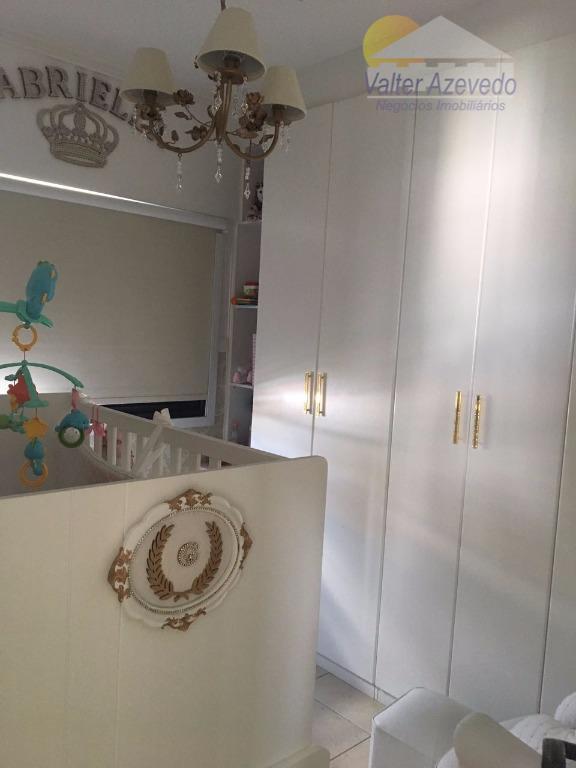 apartamento de ótima localização, com 02 dormitórios sendo 01 suíte,sala, cozinha, 03 banheiros ,lazer, 01 vaga...