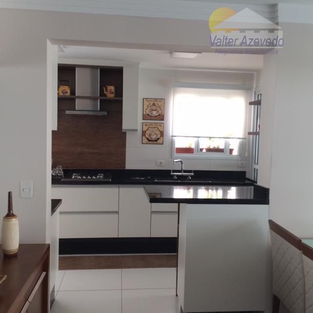 excelente apartamento !!! 03 dorm, suítes, cozinha planejada, sala ampla, banheiros, varanda goumert e quintal .