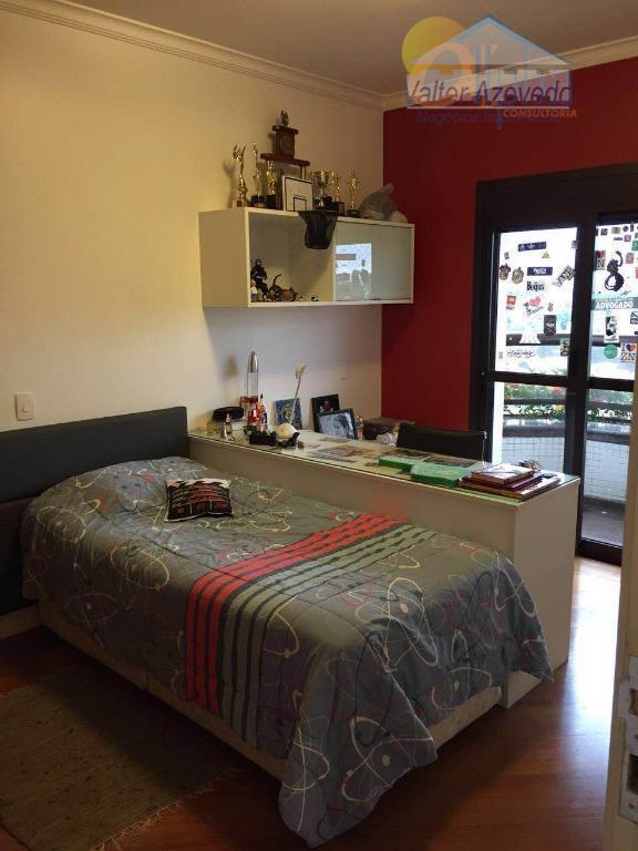 excelente apartamento de alto padrão !!! área de 280m², com 4 dormitórios, sendo 3 suítes, sala...