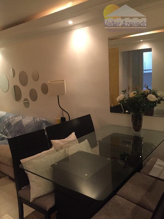 apartamento reformado !!! com 02 dormitórios, sala 02 ambientes, cozinha planejada, 01 banheiro, 01 vaga de...