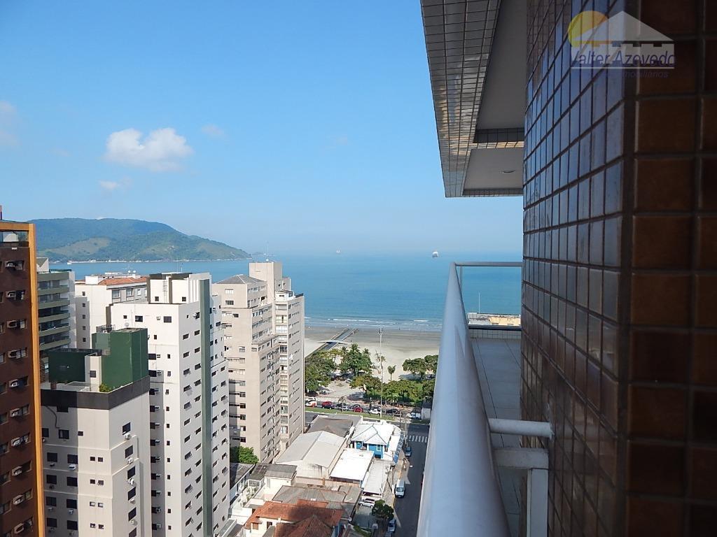Apartamento residencial à venda, Embaré, Santos - AP0578.
