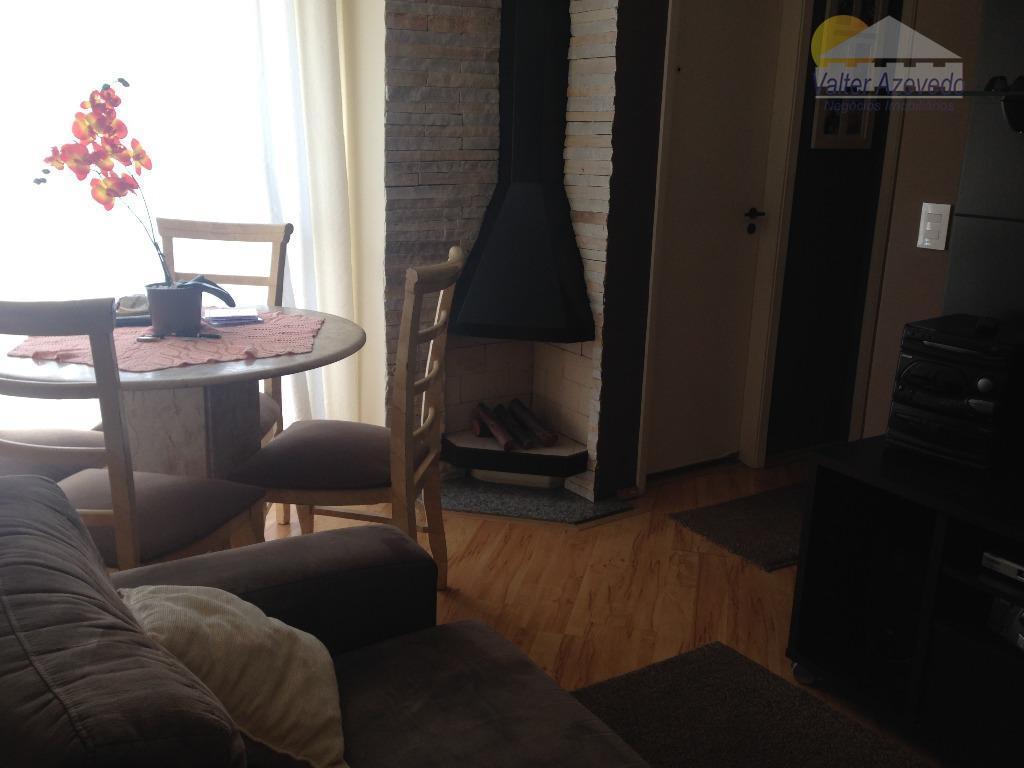apartamento mandaqui ! mobiliado ! 02 dormitórios, sala, lareira, cozinha americana, 01 vaga ! lazer completo...