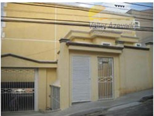 Sobrado residencial à venda, Água Fria, São Paulo - SO0023.