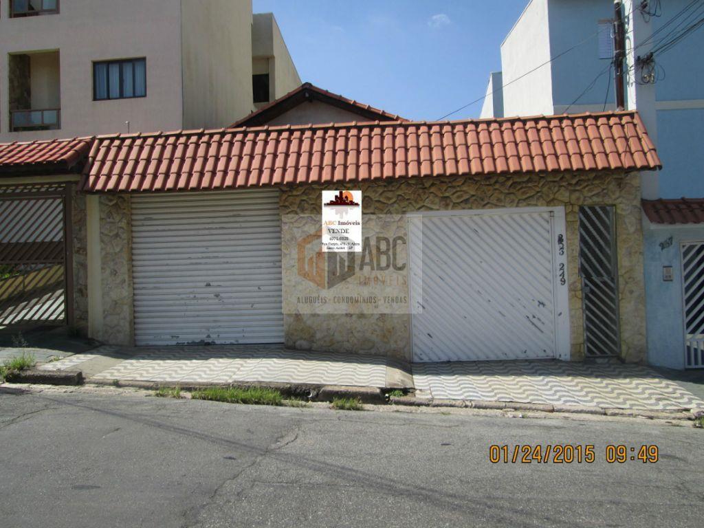 Casa residencial à venda, Vila Cecília Maria, Santo André.