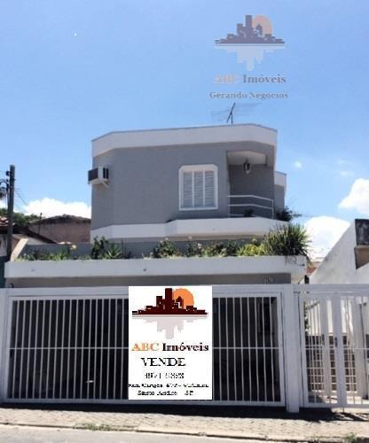 Sobrado residencial à venda, Vila Clarice, Santo André.