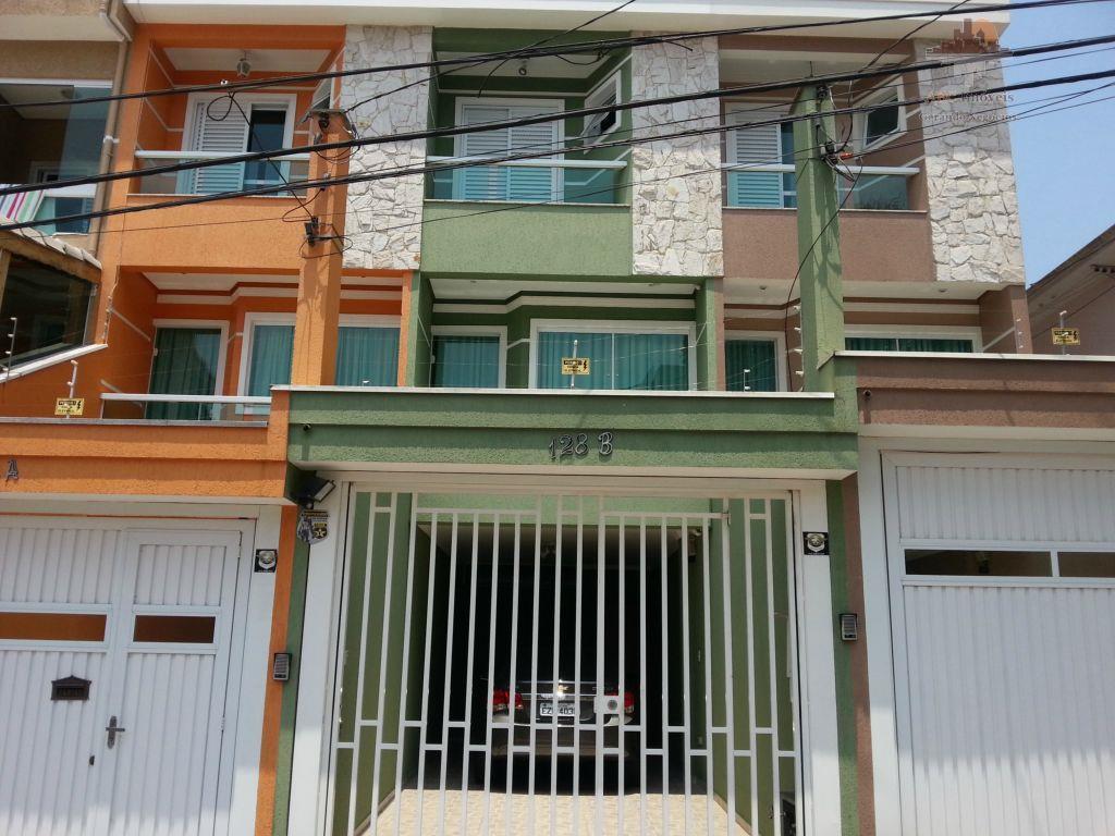 Sobrado  residencial à venda, Vila Helena, Santo André.