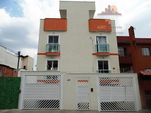 Apartamento  residencial à venda, Vila Tibiriçá, Santo André.
