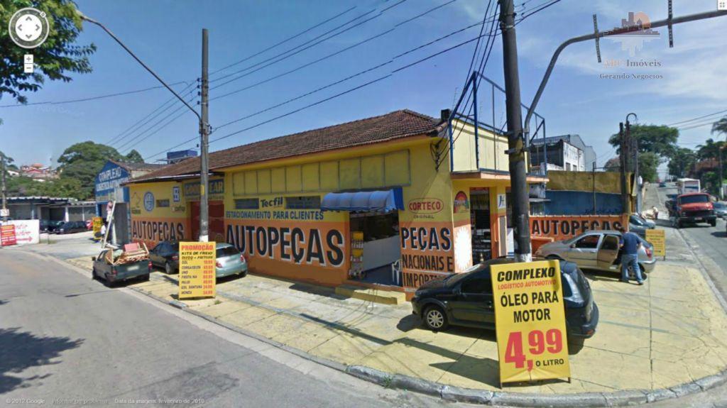 Galpão  comercial para locação, Vila América, Santo André.