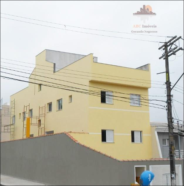 Cobertura  residencial à venda, Vila Cecília Maria, Santo André.