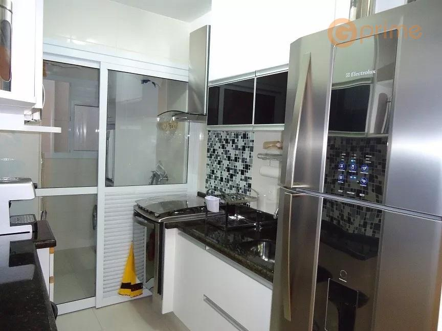 apartamento bem estar vila rosáliaapto de 76 m², 3 dormts e 2 vagas. andar alto, moveis...