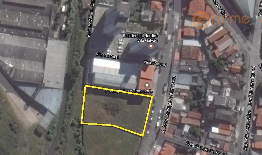 Excelente área Guarulhos 2.000 m² - Aceita Permuta