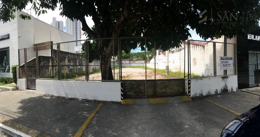 Área comercial para locação, Petrópolis, Natal.
