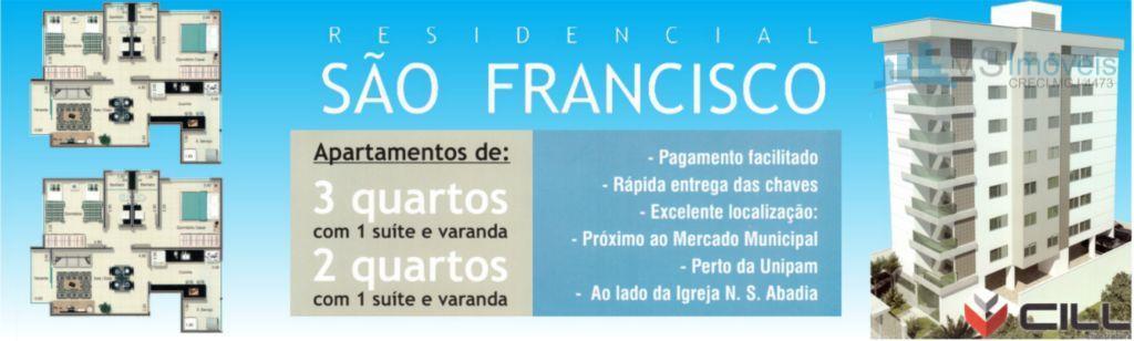 Apartamento residencial à venda, São Francisco, Patos de Minas.