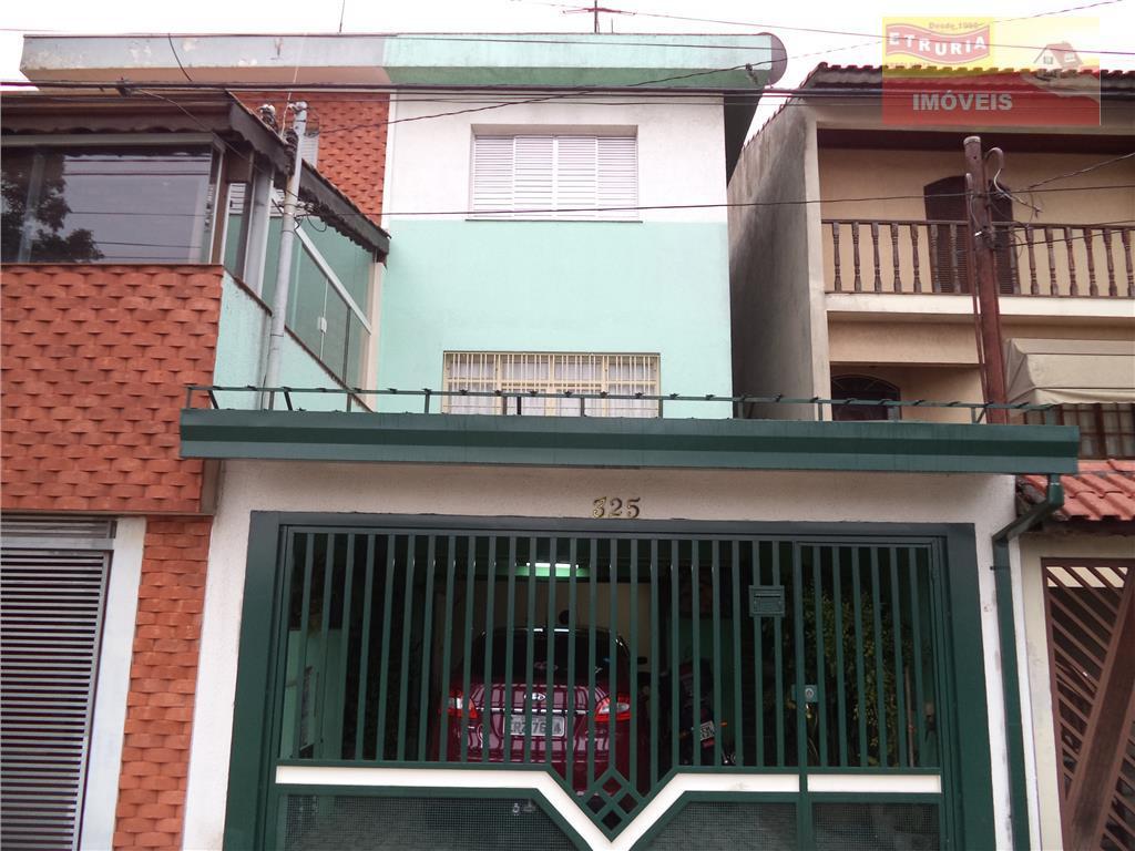Casa residencial à venda, Jardim Utinga, Santo André.