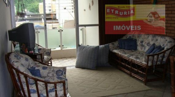 Apartamento  residencial à venda, Jardim Tejereba, Guarujá.