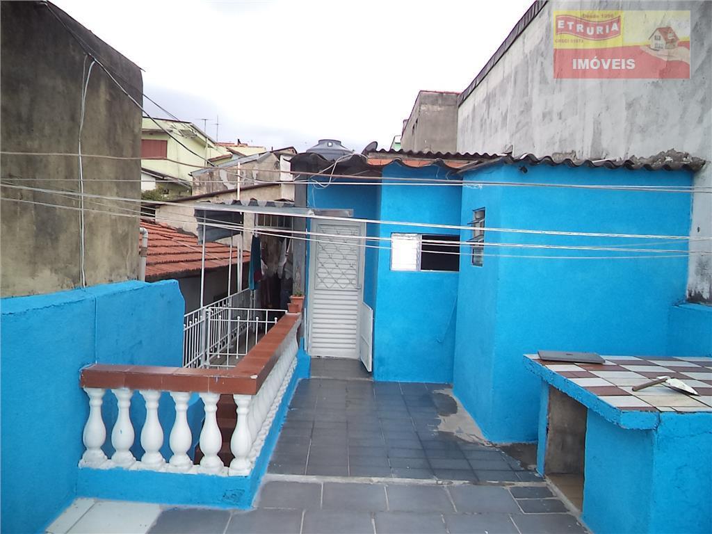 Sobrado  residencial à venda, Parque São Rafael, São Paulo.