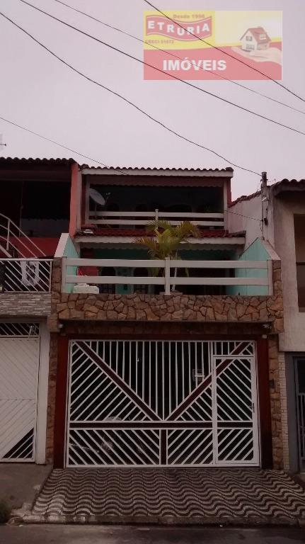 Sobrado residencial à venda, Cidade Satélite Santa Bárbara, São Paulo.