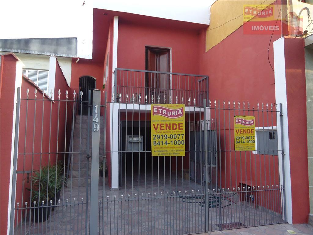 Casa residencial à venda, São Mateus, São Paulo.