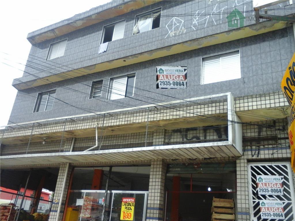 Apartamento sobre loja para fins residenciais para locação, Jardim São Mateus, Taboão da Serra.