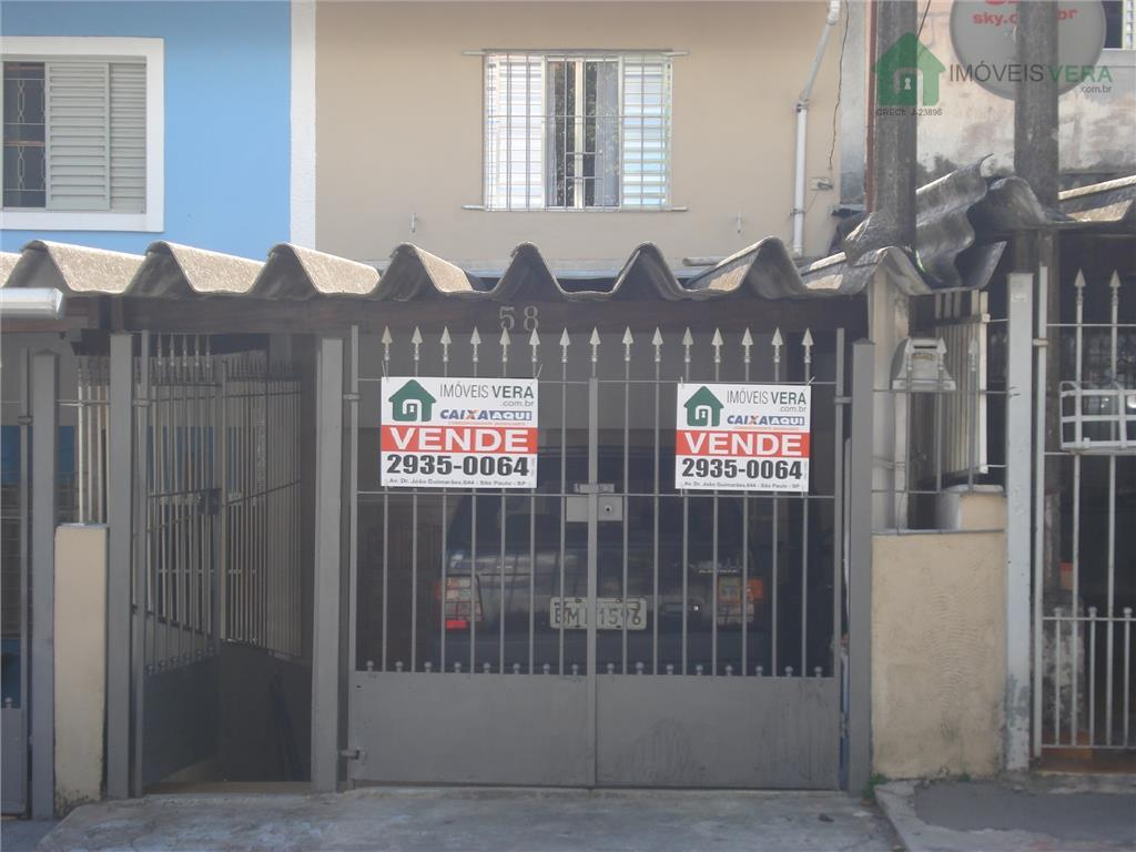 Sobrado  residencial à venda, Jardim Maria Virginia, São Paulo.