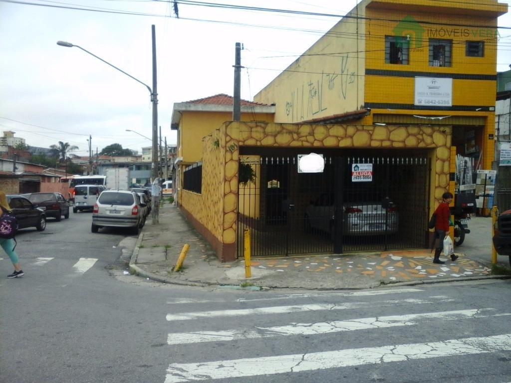 Casa  comercial para locação, Campo Limpo, São Paulo.