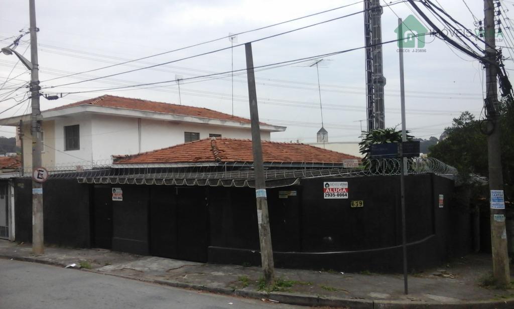 Casa comercial para locação, Jardim Taboão, São Paulo.